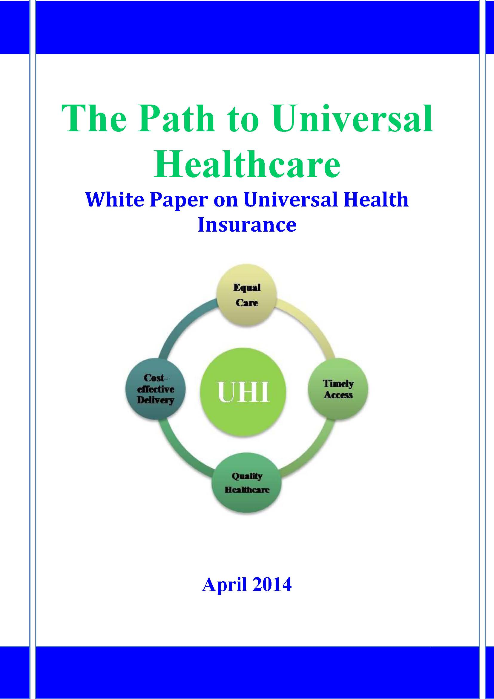 research paper on universal health care in us