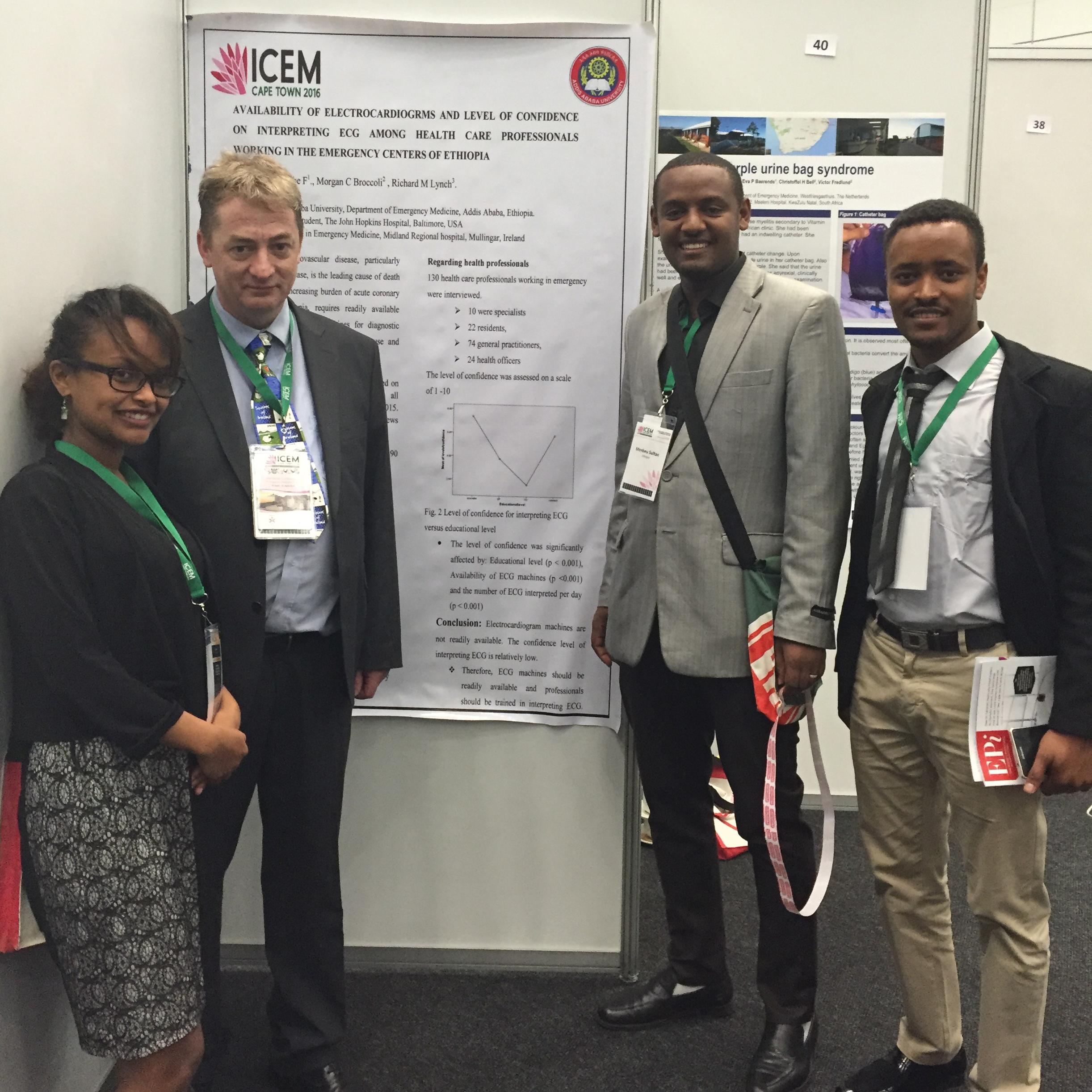 Irish/Ethiopian study highlights a lack of ECGs